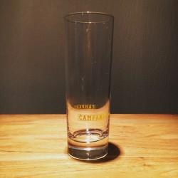 Glas Campari long drink geel
