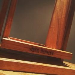 Wooden swing Jack Daniel's