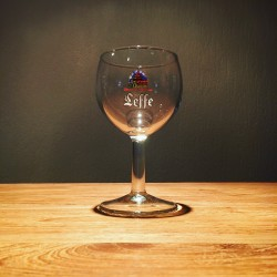 Glass Leffe galopin wine model