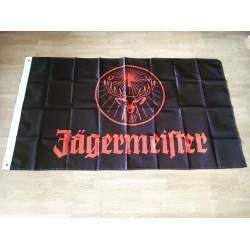 Vlag Jägermeister zwart