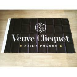 Drapeau Veuve Clicquot noir