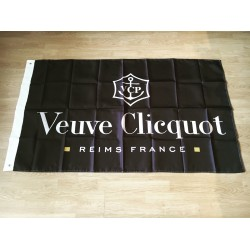 Flag Veuve Clicquot black