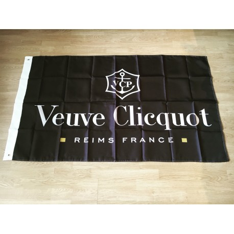Vlag Veuve Clicquot zwart
