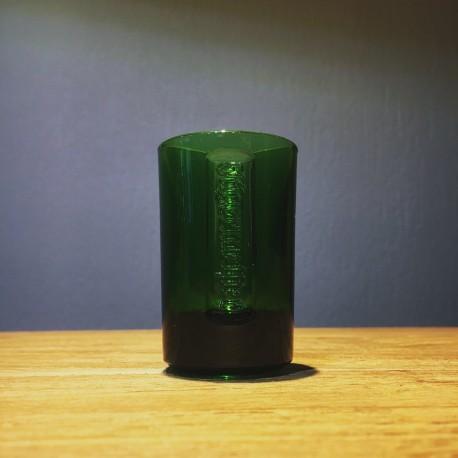 Glass of Jägermeister shooter green