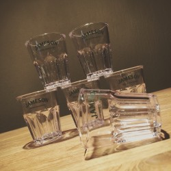 Glas Jameson shooter PVC x6