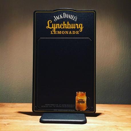 Chalkboard sign Jack Daniel's Lynchburg