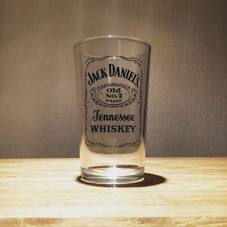 Glass of Jack Daniel's vintage model 2