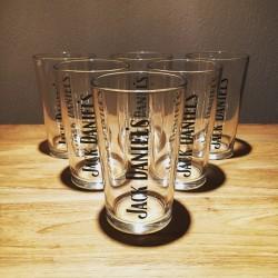 Glass of Jack Daniel's vintage model 4