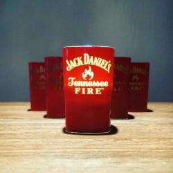 Illuminated Glass Jack Daniel's Fire shooter