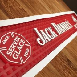 Bar runner Jack Daniel's Fire with lighting