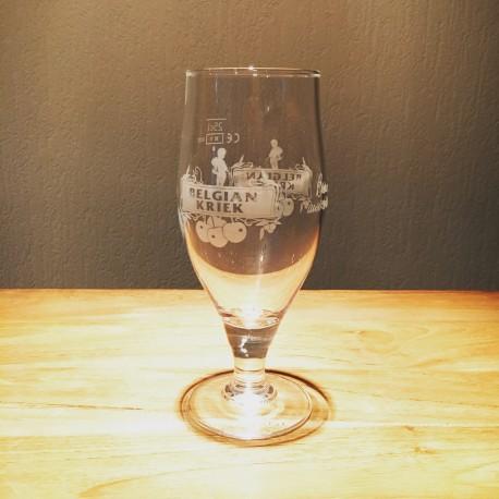 Verre bière Belgian Kriek