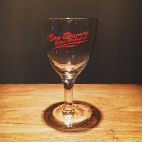 Verre bière Bon-Secours calice