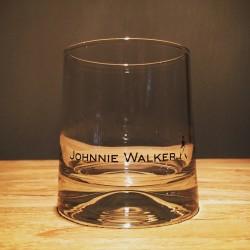 Glas Johnnie Walker on the rocks uitlopende