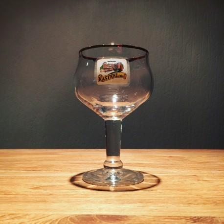 Verre bière Kasteelbier Bière château galopin