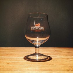 Verre bière Kriek Bellevue galopin