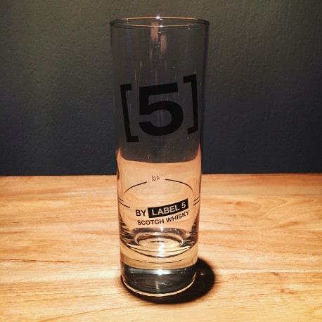 Glass Label 5 highball 22cl