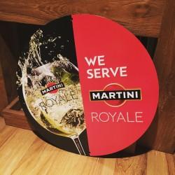 Metalen plaat Royal Martini