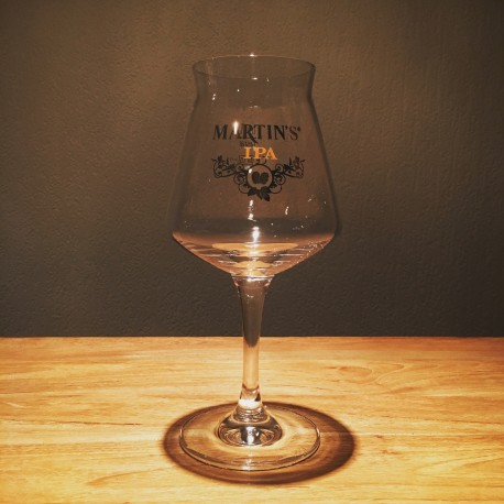 Glass beer Martin's IPA