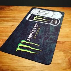 Tapis de bar Monster