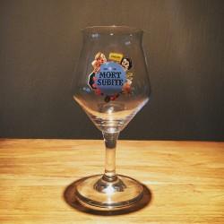 Verre bière Mort-Subite modèle 2