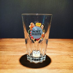 Verre bière Mort-Subite modèle 4
