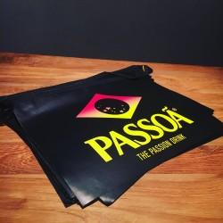 Paper party banner Passoa