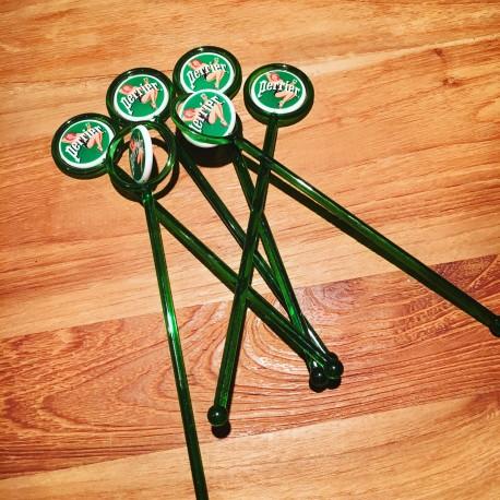Swizzle stick Perrier x6