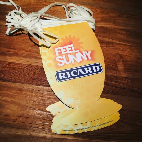 Paper party banner Ricard Feel Sunny