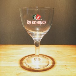 Glass beer De Koninck 25cl