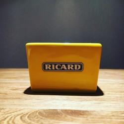 Vierkantig schaaltje Ricard