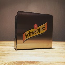 Coaster holder Schweppes