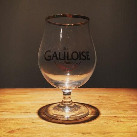 Verre bière La Gauloise 33cl ballon