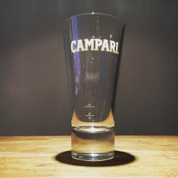Glass Campari flared model 2