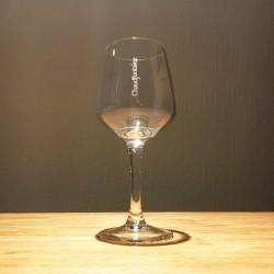 Glas Chaudfontaine met voet