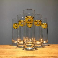 Glas Cutty Sark long drink