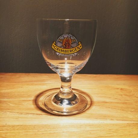 Verre bière Grimbergen 25cl logo bleu