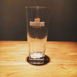 Glass beer Gueuze Belle-Vue