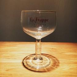 Glass beer La Trappe