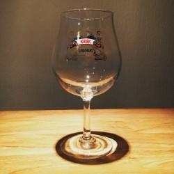 Bier voet glas Kriek Lindemans