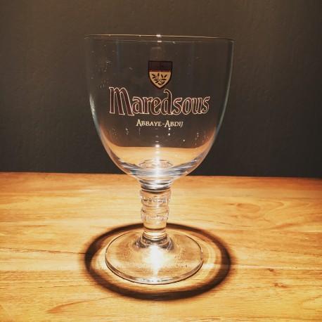Verre bière Maredsous 33cl modèle calice