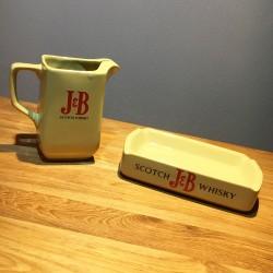 Set J&B Pichet + ashtray in...