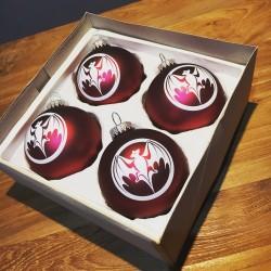 Christmas balls Bacardi