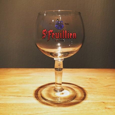 Verre bière Saint-Feuillien 25cl