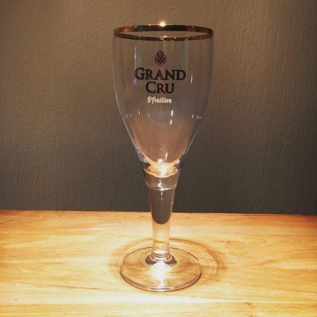 Verre bière Saint-Feuillien Grand Cru