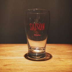 Glass beer Saint-Feuillien Saison