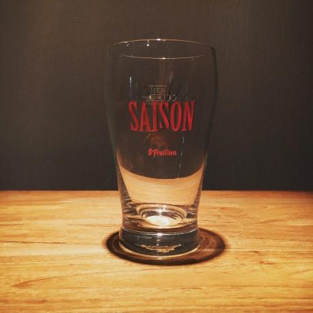 Verre bière Saint-Feuillien Saison