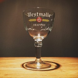 Glass beer Trappist Westmalle