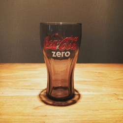 Glass Coke Zero