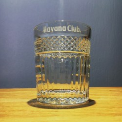 Glass Havana Club geciseleerd