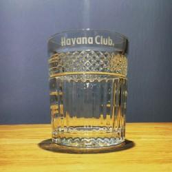Verre Havana Club ciselés